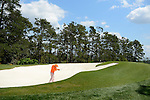 Rickie Fowler during the fourth round of the 2014 Masters held in Augusta, GA at Augusta National Golf Club on Sunday, April 13, 2014.