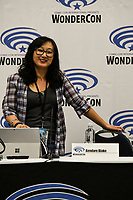 Kendare Blake at Wondercon in Anaheim Ca. March 31, 2019