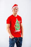 Wednesday 02 November 2016<br /> Pictured: Stephen Kingsley<br /> Re: Swansea City Christmas Photo shoot, Liberty Stadium, Wales, UK