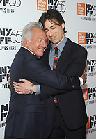NEW YORK, NY - OCTOBER 01: Dustin Hoffmand and Noah Baumbach attends the New York Film Festival screening of The Meyerowitz Stories (New and Selected) at Alice Tully Hall on October 1, 2017 in New York City. <br /> CAP/MPI/JP<br /> &copy;JP/MPI/Capital Pictures