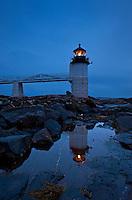 Marshall Point Light Station, Port Clyde, Maine, USA. Est. 1832