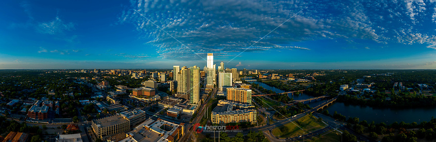 The Austin skyline is ever expanding. I love this image because of the unique Cirrocumulus clouds painting the sky. Due to Austin's international popularity and real estate boom, forecasts predict that the Austin-San Antonio corridor will exceed Dallas and Houston in 10 years.