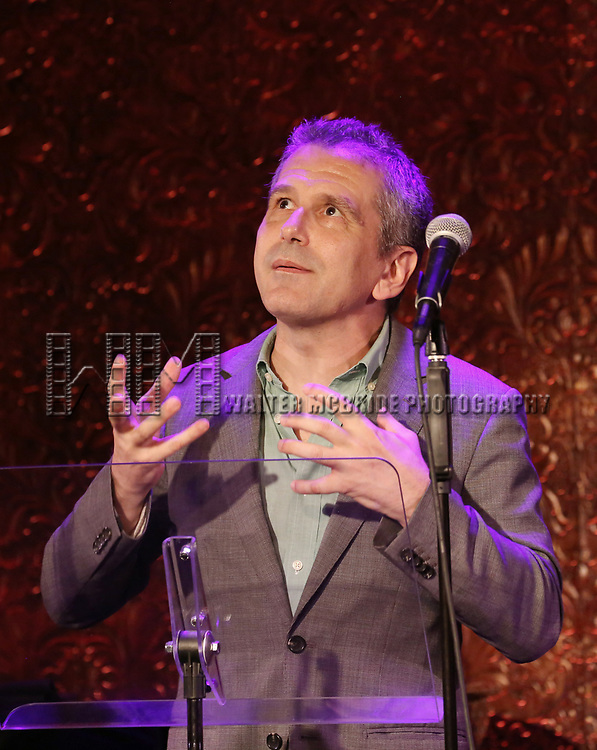 David Cromer attends 2017 New York Drama Critics' Circle Awards Reception at Feinstein's/54 Below on May 18, 2017 in New York City.
