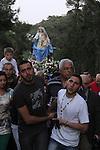 Israel, Haifa, Our Lady of Mount Carmel procession to Stella Maris
