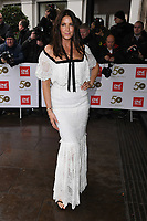 LONDON, UK. March 12, 2019: Lisa Snowdon arriving for the TRIC Awards 2019 at the Grosvenor House Hotel, London.<br /> Picture: Steve Vas/Featureflash