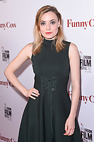 Christine Bottomley at the London Film Festival 2017 screening of &quot;Funny Cow&quot; at the Vue West End, Leicester Square, London, UK. <br /> 09 October  2017<br /> Picture: Steve Vas/Featureflash/SilverHub 0208 004 5359 sales@silverhubmedia.com