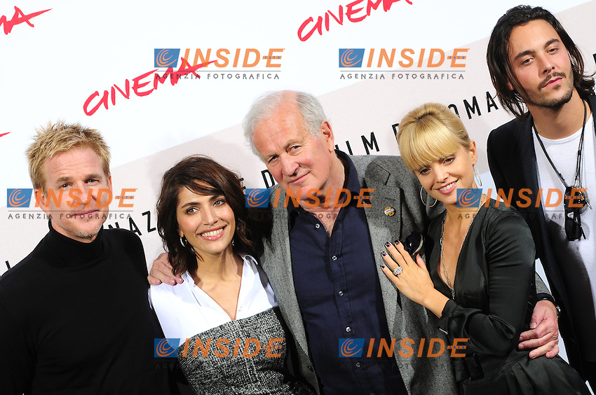 Third edition of the Rome International film festival<br /> Matthew Modine Caterina Murino John Irvin Mena Suvari e Jack Huston<br /> Photocall 'The Garden of Eden'<br /> Roma 26/10/2008<br /> Photo Luca Cavallari Insidefoto
