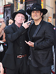 Frank Miller and Robert Rodriguez attends The Dimension Film's L.A. Premiere of FRANK MILLER'S SIN CITY: A DAME TO KILL FOR held at  The TCL Chinese Theatre in Hollywood, California on August  19,2014                                                                               © 2014 Hollywood Press Agency