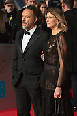 London, UK. 14 February 2016.  Director Alejandro Iñárritu. Red carpet arrivals for the 69th EE British Academy Film Awards, BAFTAs, at the Royal Opera House. © Vibrant Pictures/Alamy Live News