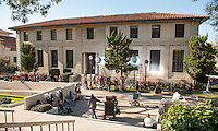 "The Fox production of ""Lie To Me"" (starring Tim Roth) films in the library on the campus of Occidental College, Los Angeles, California, January 7-8, 2009. (Photo by Marc Campos, College Photographer, Copyright Occidental College)"