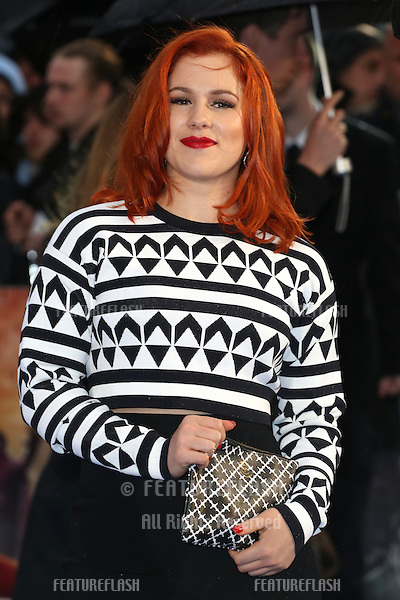 Katy B at X-Men: Days Of Future Past - UK film premiere<br /> London, England. 12/05/2014 Picture by: Henry Harris / Featureflash
