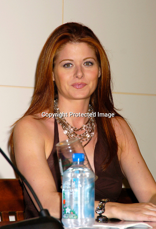 "Debra Messing..at Barnes & Nobles Union Square signing copies of ..their new CD "" Will & Grace: Let the Music Out! "" on September 15, 2004 in New York City. ..Photo by Robin Platzer, Twin Images"