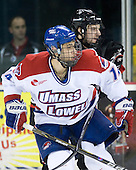 Joseph Pendenza (Lowell - 14), Steve Silva (Northeastern - 17) - The visiting Northeastern University Huskies defeated the University of Massachusetts-Lowell River Hawks 3-2 with 14 seconds remaining in overtime on Friday, February 11, 2011, at Tsongas Arena in Lowelll, Massachusetts.