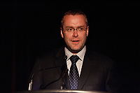 Montreal (QC) CANADA - May 14  2009 - Claude BECHARD,<br /> Depute de Kamouraska-Temiscouata,<br /> Parti liberal du QuÈbec,<br /> Ministre des Ressources naturelles et de la Faune, au Genesis GalaMontreal (Qc) CANADA -  FILE PHOTO of Quebec Minister Claude Bechard who just died of cancer at 41