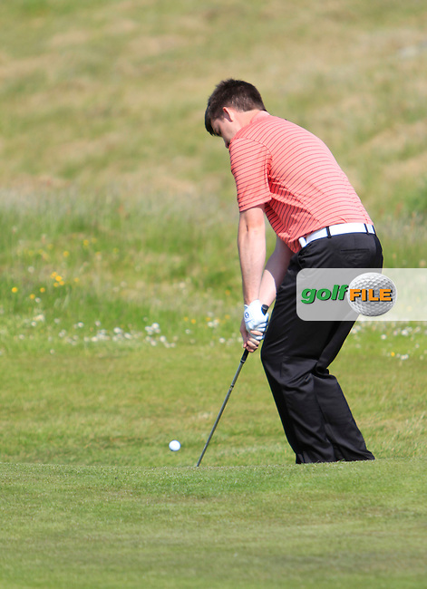 John Hickey (Cork) on the 10th during the 1st round of the Irish Amateur Close Championship 2013 at the Connemara Golf Club Sat  8/6/13<br /> Picture:  Thos Caffrey / www.golffile.ie
