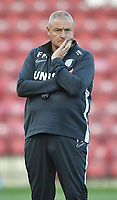 First Team Coach Frankie McAvoy<br /> <br /> Photographer Dave Howarth/CameraSport<br /> <br /> The Carabao Cup First Round - Bradford City v Preston North End - Tuesday 13th August 2019 - Valley Parade - Bradford<br />  <br /> World Copyright © 2019 CameraSport. All rights reserved. 43 Linden Ave. Countesthorpe. Leicester. England. LE8 5PG - Tel: +44 (0) 116 277 4147 - admin@camerasport.com - www.camerasport.com