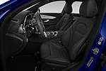 Front seat view of a 2020 Mercedes Benz C Class Break 43 AMG 5 Door Wagon front seat car photos