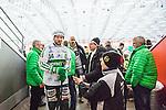 V&auml;ster&aring;s 2014-03-08 Bandy SM-semifinal 4 V&auml;ster&aring;s SK - Hammarby IF :  <br /> V&auml;ster&aring;s Patrik Sj&ouml;str&ouml;m &auml;r glad efter matchen n&auml;r han g&aring;r av planen<br /> (Foto: Kenta J&ouml;nsson) Nyckelord:  VSK Bajen HIF jubel gl&auml;dje lycka glad happy