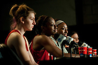 DENVER, CO--WBCA All American Awards press conference for the 2012 NCAA Women's Final Four in Denver, CO.