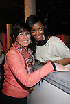 As The World Turns Colleen Zenk and One Life To Live Nefessa Williams  attend My Big Gay Italian Wedding on March 18, 2011 (also 3-17- & 3-20) at St. Luke's Theatre, New York City, New York. (Photo by Sue Coflin/Max Photos)