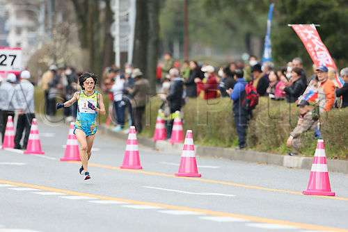 13.03.2016. Aichi, Japan. Nagoya womens marathon.  Mizuki Noguchi (JPN)
