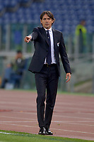 Simone Inzaghi, Lazio coach.<br /> Roma 02-11-2017 Stadio Olimpico Uefa Europa League 2017/2018 Lazio - Nizza / Lazio - Nice Foto Antonietta Baldassarre / Insidefoto