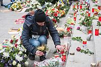 Offizielles Gedenken durch berliner Politiker am 2.Jahrestag des Terroranschlag durch den islamistischen Terroristen Anis Amri auf den Weihnachtsmarkt am Berliner Breitscheidplatz am 19. Dezember 2016.<br /> Im Bild: .<br /> 19.12.2018, Berlin<br /> Copyright: Christian-Ditsch.de<br /> [Inhaltsveraendernde Manipulation des Fotos nur nach ausdruecklicher Genehmigung des Fotografen. Vereinbarungen ueber Abtretung von Persoenlichkeitsrechten/Model Release der abgebildeten Person/Personen liegen nicht vor. NO MODEL RELEASE! Nur fuer Redaktionelle Zwecke. Don't publish without copyright Christian-Ditsch.de, Veroeffentlichung nur mit Fotografennennung, sowie gegen Honorar, MwSt. und Beleg. Konto: I N G - D i B a, IBAN DE58500105175400192269, BIC INGDDEFFXXX, Kontakt: post@christian-ditsch.de<br /> Bei der Bearbeitung der Dateiinformationen darf die Urheberkennzeichnung in den EXIF- und  IPTC-Daten nicht entfernt werden, diese sind in digitalen Medien nach &sect;95c UrhG rechtlich geschuetzt. Der Urhebervermerk wird gemaess &sect;13 UrhG verlangt.]
