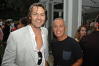 Nero Smeraldo, Curt Smith==<br /> LAXART 5th Annual Garden Party Presented by Tory Burch==<br /> Private Residence, Beverly Hills, CA==<br /> August 3, 2014==<br /> ©LAXART==<br /> Photo: DAVID CROTTY/Laxart.com==