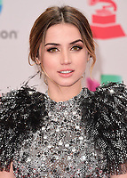 LAS VEGAS, NV - NOVEMBER 16:  Ana de Armas at the 18th Annual Latin Grammy Awards at the MGM Grand Garden Arena on November 16, 2017 in Las Vegas, Nevada. (Photo by Scott Kirkland/PictureGroup)