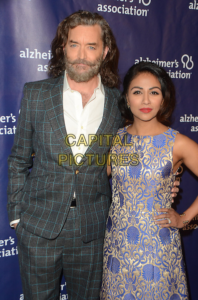 BEVERLY HILLS, CA: MARCH 9: Timothy Omundson and Karen David at the 24th and final 'A Night at Sardi's' to benefit the Alzheimer's Association at The Beverly Hilton Hotel on March 9, 2016 in Beverly Hills, California. <br /> CAP/MPI/DE<br /> &copy;DE//MPI/Capital Pictures