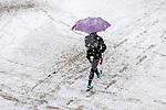 MC 1.23.18 Snow 04.JPG by Matt Cashore/University of Notre Dame