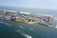 Aerial Ocean City MD Maryland Beach