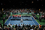 French Davis Cup player during his match against Viktor Troicki of Serbia, Davis Cup finals, Serbia vs France in Belgrade Arena in Belgrade, Serbia, Sunday, 5. December 2010. (Srdjan Stevanovic/Starsportphoto ©)