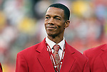 30 May 2012: 2012 National Soccer Hall of Fame inductee Desmond Armstrong was honored on the field before the game. The Brazil Men's National Team defeated the United States Men's National Team 4-1 at Fedex Field in Landover, Maryland in an international friendly soccer match.