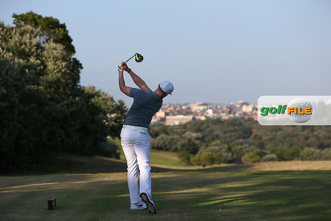 Oliver Fisher (ENG) drives down the 11th during Round One of the Africa Open 2015 at the East London Golf Club, East London, Eastern Cape, South Africa. Picture:  David Lloyd / www.golffile.ie. 05/03/2015