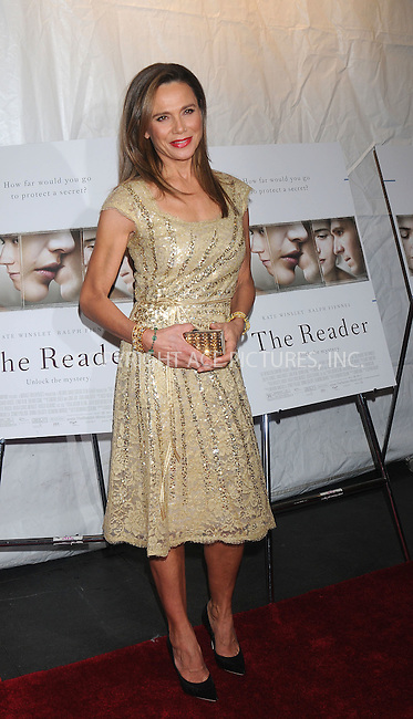 WWW.ACEPIXS.COM . . . . . ....December 3 2008, New York City....Actress Lena Olin at the New York premiere of 'The Reader' on December 3, 2008 in New York City. ....Please byline: KRISTIN CALLAHAN - ACEPIXS.COM.. . . . . . ..Ace Pictures, Inc:  ..(646) 769 0430..e-mail: info@acepixs.com..web: http://www.acepixs.com