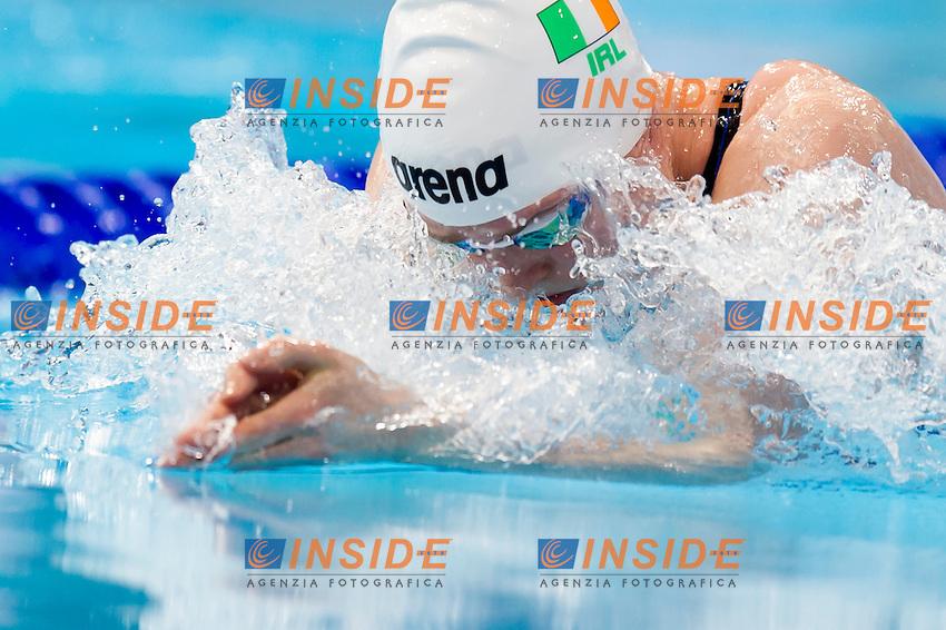 DOYLE Fiona IRL<br /> London, Queen Elizabeth II Olympic Park Pool <br /> LEN 2016 European Aquatics Elite Championships <br /> Swimming<br /> Women's 100m breaststroke final  <br /> Day 10 18-05-2016<br /> Photo Giorgio Perottino/Deepbluemedia/Insidefoto
