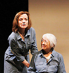 """Guiding Light Orlagh Cassidy, Kitty Chen star in play as The Cell presents Origin Theatre Company with the North American Premiere of """"The Hundred We Are""""  at the dress rehearsal on March 16, 2016 through April 8 at the Cell Theatre on 23rd St, New York City, New York. (Photo by Sue Coflin/Max Photos)"""