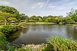 Gyoen National Garden in Shinjuku, Tokyo, Japan