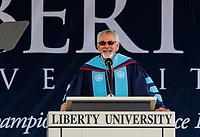 Liberty University's 43rd Commencement Ceremony is held on May 14, 2016. (Photo by Joel Coleman)