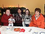 Josephine, Kayleigh and Mya Treanor and Breda Walsh at the Dominican Coffee Morning. Photo:Colin Bell/pressphotos.ie