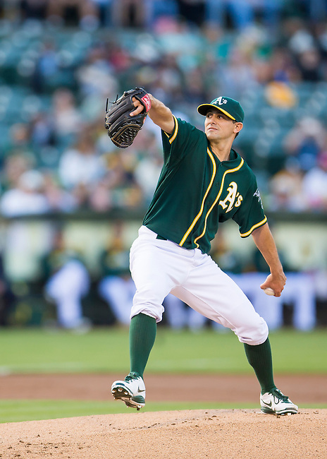 Brad Mills makes his first start in the majors.<br /> Boston Red Sox at Oakland A's at O.Co coliseum in Oakland, June 20, 2014