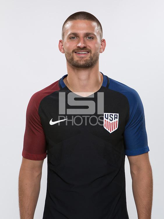 Miami, FL. - October 4, 2016: The U.S. Men's National team portraits.