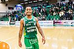 S&ouml;dert&auml;lje 2015-01-17 Basket Basketligan S&ouml;dert&auml;lje Kings - Bor&aring;s Basket :  <br /> S&ouml;dert&auml;lje Kings John Roberson &auml;r glad efter matchen mellan S&ouml;dert&auml;lje Kings och Bor&aring;s Basket <br /> (Foto: Kenta J&ouml;nsson) Nyckelord:  Basket Basketligan S&ouml;dert&auml;lje Kings SBBK T&auml;ljehallen Bor&aring;s jubel gl&auml;dje lycka glad happy