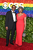 Harold Wheeler and Hattie Winston attend the 2019 Tony Awards on June 9, 2019 at Radio City Music Hall in New York, New York, USA.<br /> <br /> photo by Robin Platzer/Twin Images<br />  <br /> phone number 212-935-0770