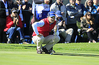 Kevin Streelman (USA) at the 6th green at Pebble Beach Golf Links during Saturday's Round 3 of the 2017 AT&amp;T Pebble Beach Pro-Am held over 3 courses, Pebble Beach, Spyglass Hill and Monterey Penninsula Country Club, Monterey, California, USA. 11th February 2017.<br /> Picture: Eoin Clarke | Golffile<br /> <br /> <br /> All photos usage must carry mandatory copyright credit (&copy; Golffile | Eoin Clarke)