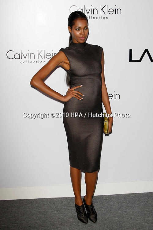 Jessica White.arriving at the Calvin Klein collection and LOS ANGELES NOMADIC DIVISION Present a Celebration of L.A. ARTS MONTH.Calvin Klein Store.Los Angeles, CA.January 28, 2010.©2010 HPA / Hutchins Photo....