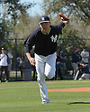 Masahiro Tanaka (Yankees),<br /> FEBRUARY 21, 2015 - MLB :<br /> New York Yankees spring training camp in Tampa, Florida, United States. (Photo by AFLO)