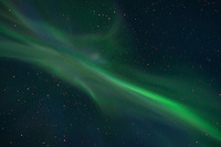 Northern Lights - Aurora Borealis Corona over Lofoten Islands, Norway