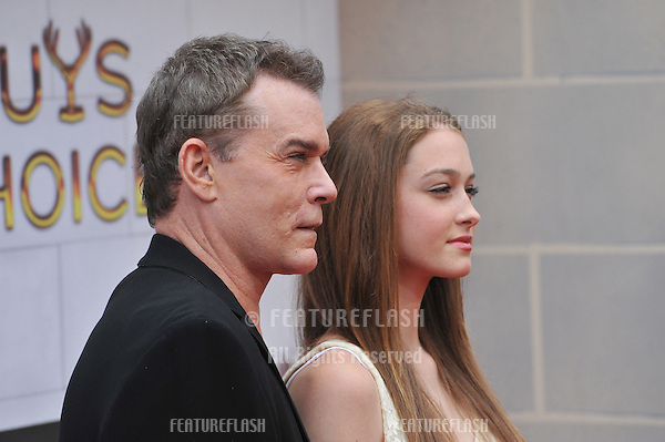 Ray Liotta & daughter Karsen at Spike TV's 2012 Guys Choice Awards  at Sony Studios, Culver City, CA..June 3, 2012  Los Angeles, CA.Picture: Paul Smith / Featureflash